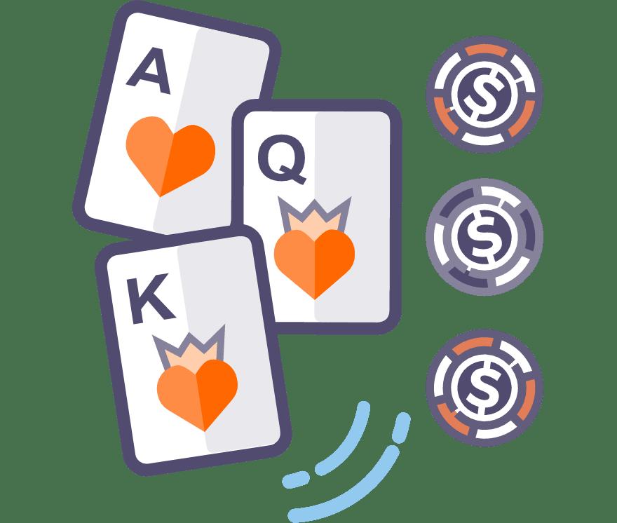 Los 53 mejores sitios de Casino de Póker de tres cartas en línea en México