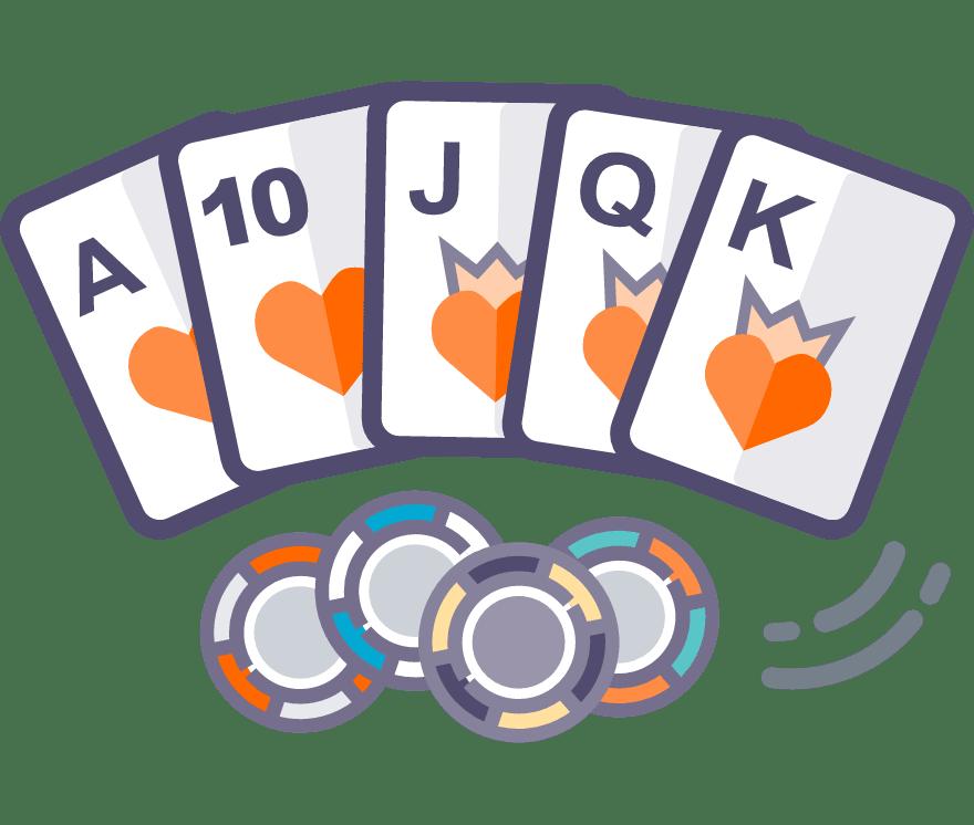 Los 43 mejores sitios de Casino de Texas Hold'em en línea en México